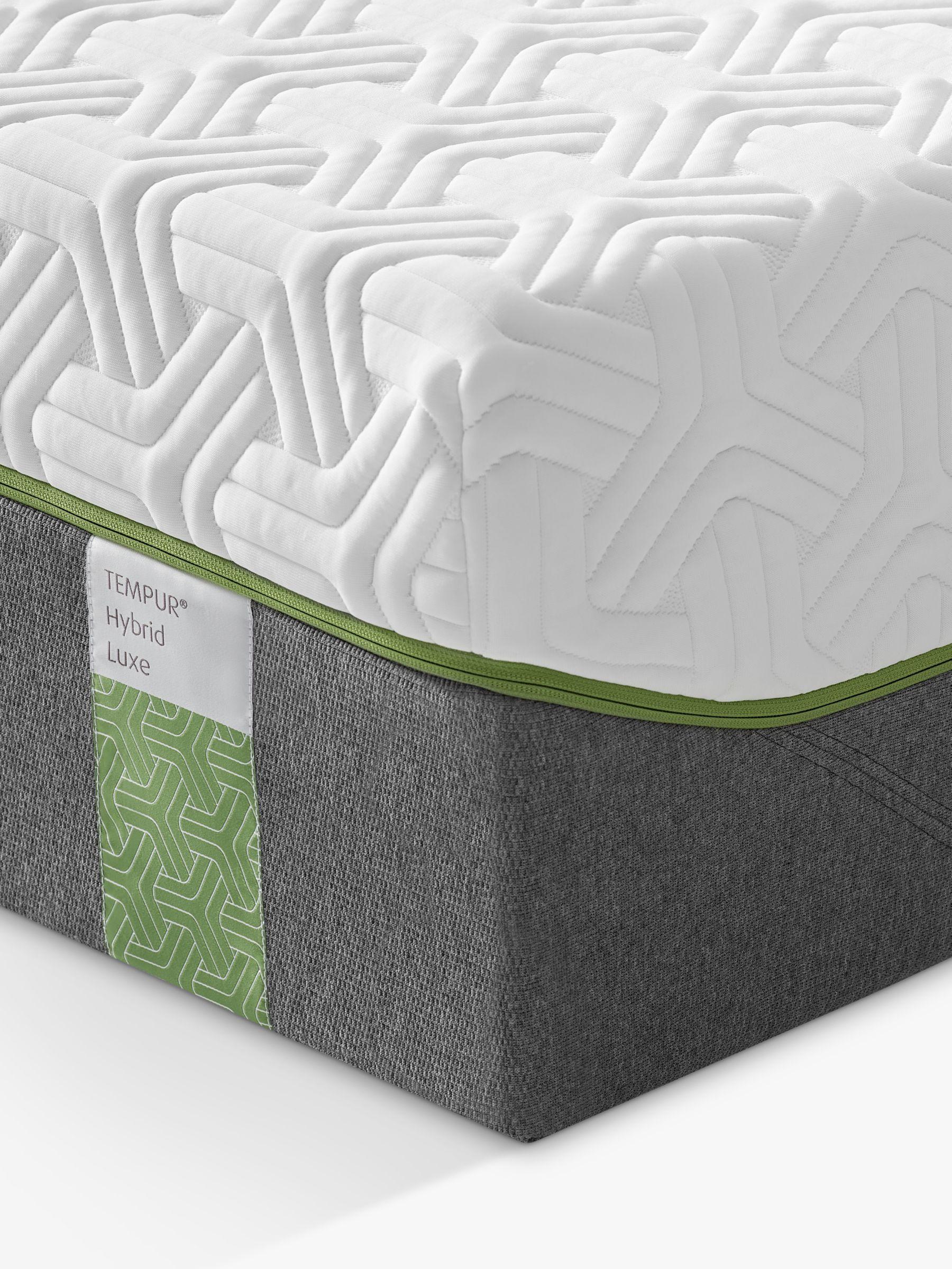 Tempur Tempur Hybrid Luxe 30 Pocket Spring Memory Foam Mattress, Medium Tension, Continental King Size