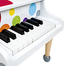 Buy Janod Confetti Wooden Grand Piano Online at johnlewis.com