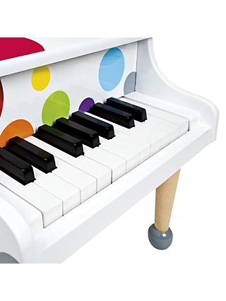 Janod Confetti Wooden Grand Piano