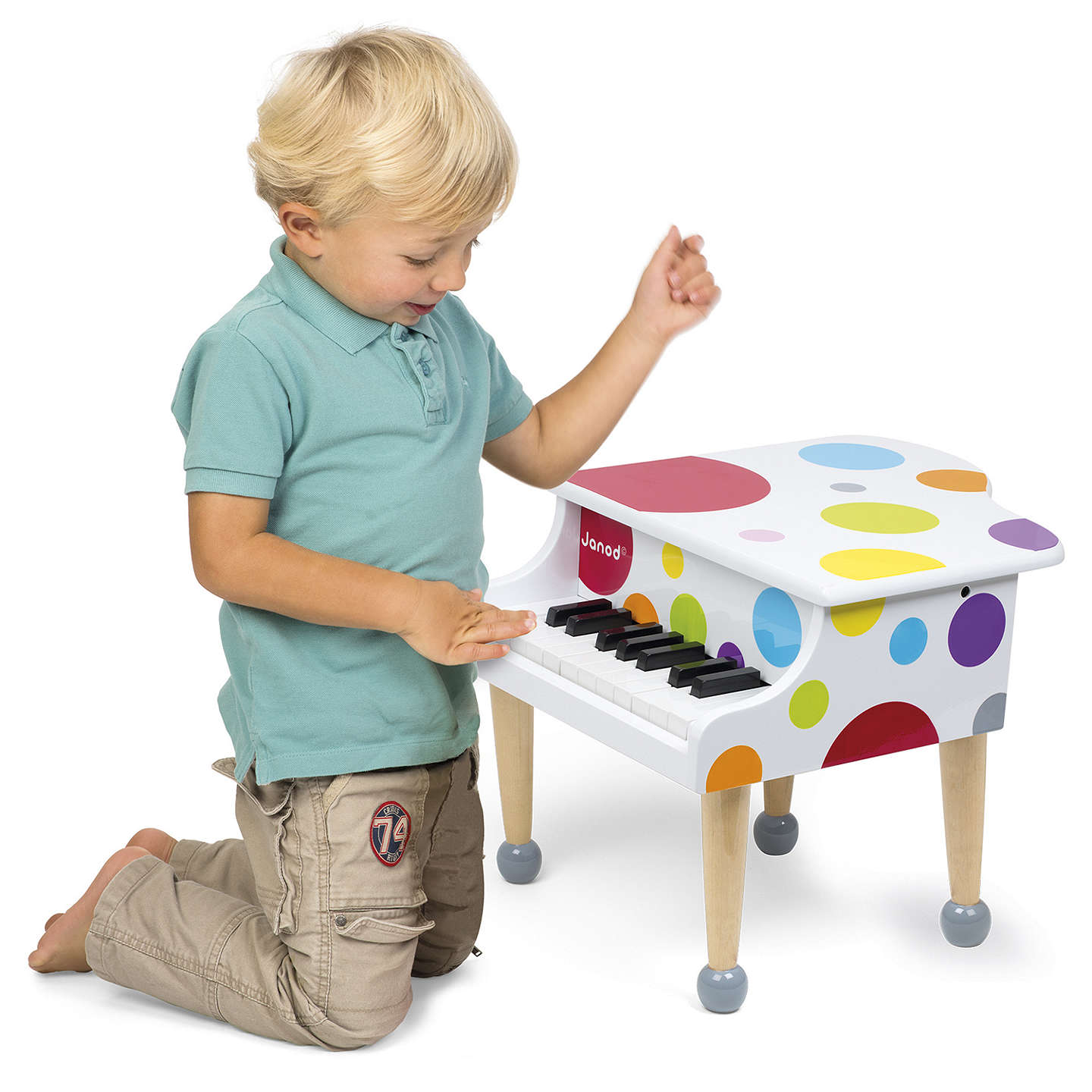 BuyJanod Confetti Wooden Grand Piano Online at johnlewis.com