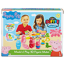Buy Peppa Pig Mould n' Play 3D Figure Maker Online at johnlewis.com