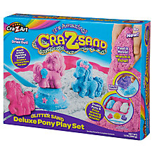 Buy Cra-Z-Art Cra-Z-Sand Glitter Sand Deluxe Pony Play Set Online at johnlewis.com