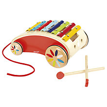 Buy Janod Wooden Xylophone Roller Online at johnlewis.com