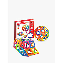 Buy Magformers 62 Piece Set Online at johnlewis.com
