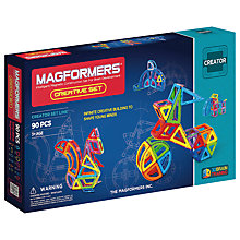 Buy Magformers Creative Set Online at johnlewis.com