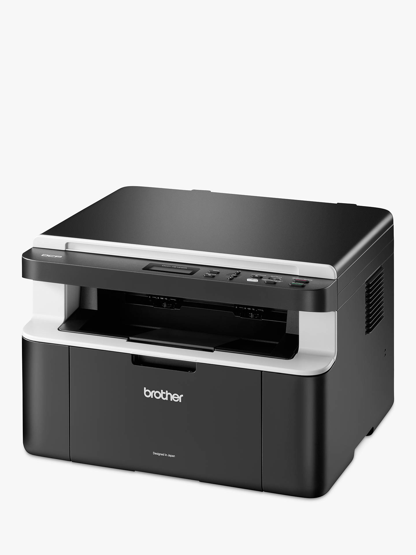 Buy Brother DCP-1612W Wireless All-In-One Mono Laser Printer with 5 Toners, Black Online at johnlewis.com