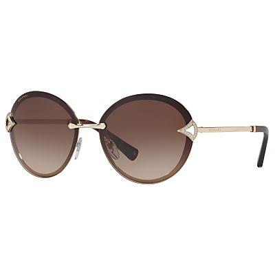 BVLGARI BV6101B Oval Sunglasses