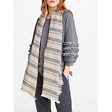 Buy AND/OR Neon Slub Scarf, Black Mix Online at johnlewis.com