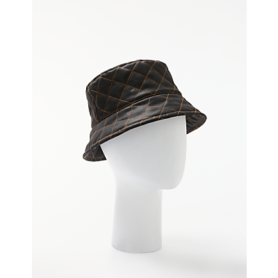 ad6beae596c John Lewis Quilted Waxed Bucket Hat. John Lewis   Partners