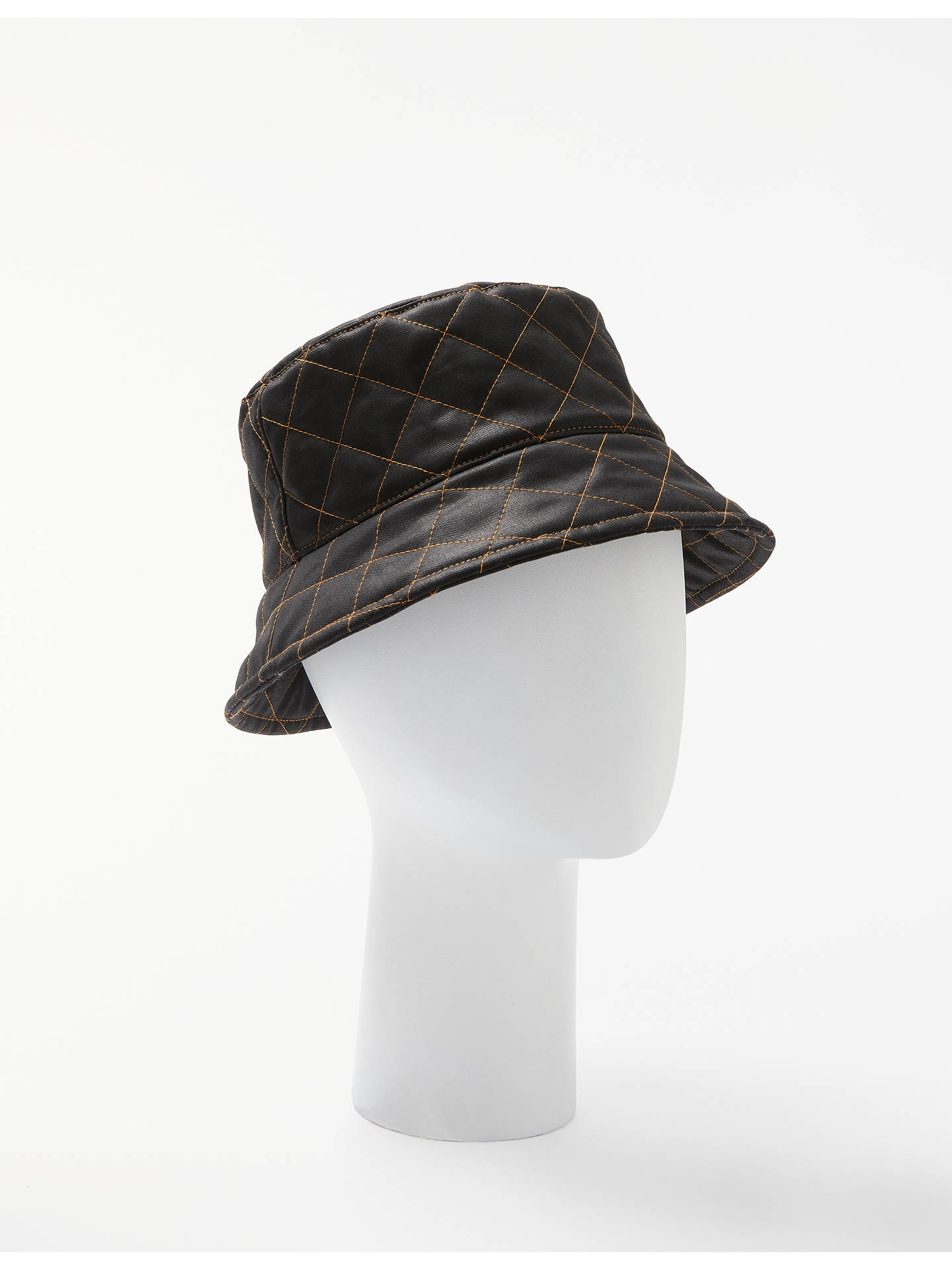 John Lewis   Partners Quilted Waxed Bucket Hat at John Lewis   Partners 60b2e87656bd