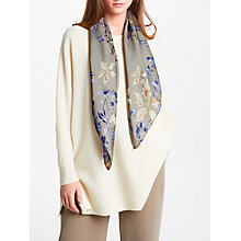 Buy Modern Rarity Archive Lillie Silk Square Scarf, Taupe Mix Online at johnlewis.com