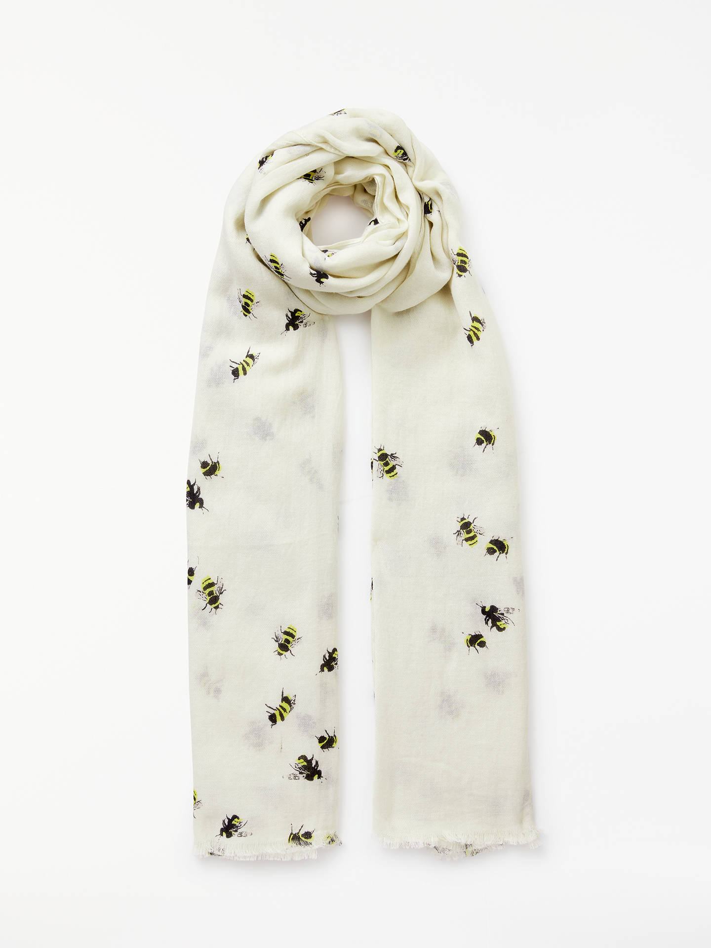 1d5be6b8e437 John Lewis   Partners Busy Bee Cotton Twill Scarf