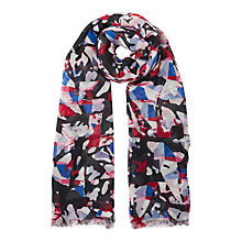 Buy Kin by John Lewis Camo Abstract Print Scarf, Multi Online at johnlewis.com