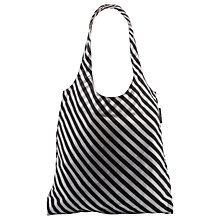 Buy Lulu Guinness Silicone Red Lip Foldaway Shopper Bag, Red Online at johnlewis.com