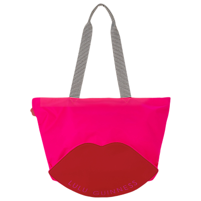 Lulu Guinness Lola Lip Tote Bag