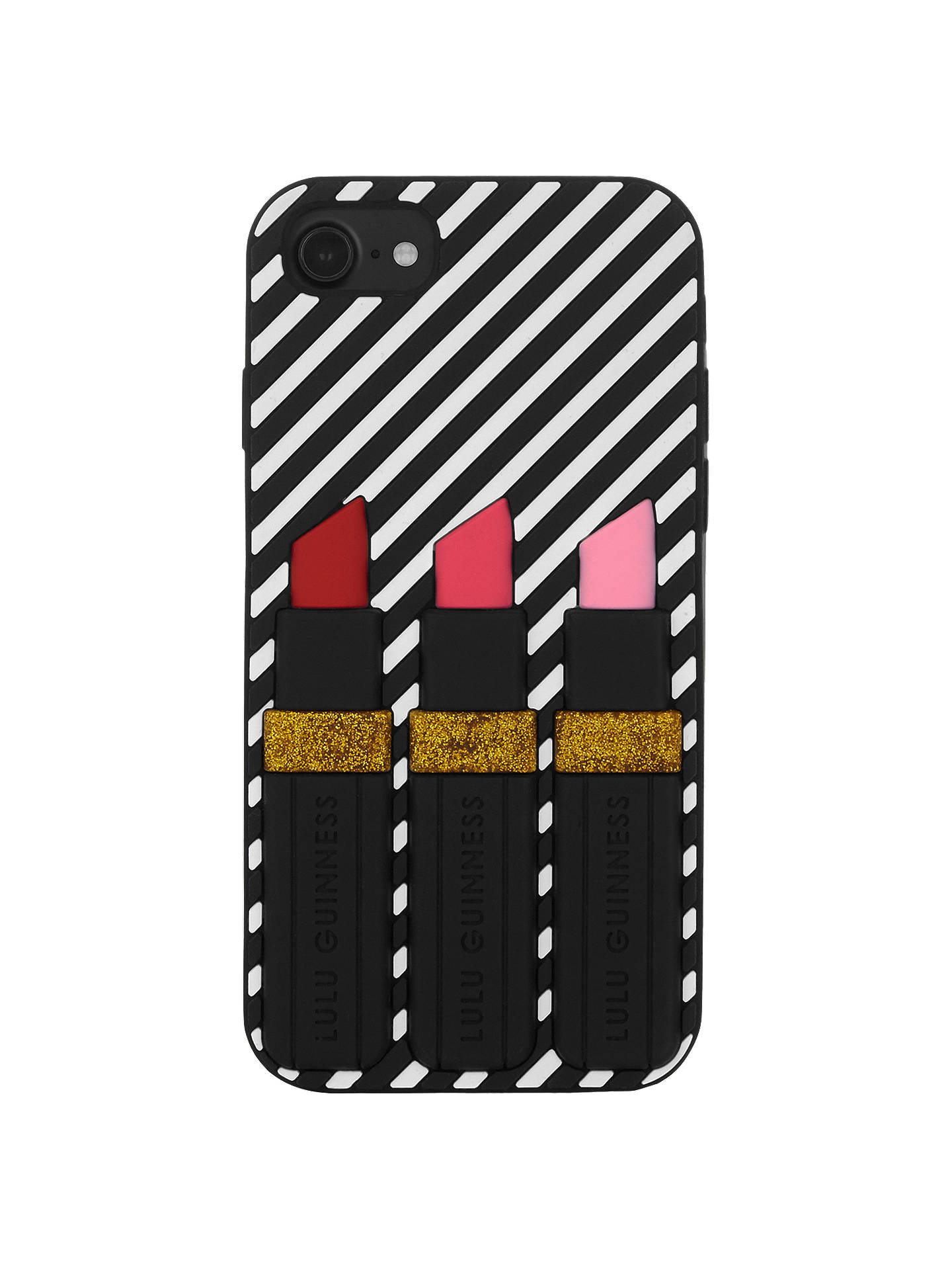 outlet store 0014c 14aed Lulu Guinness Lipstick iPhone 6/6s/7 Case, Mono