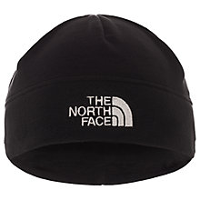 Buy The North Face Flash Fleece Beanie, Large, Black Online at johnlewis.com