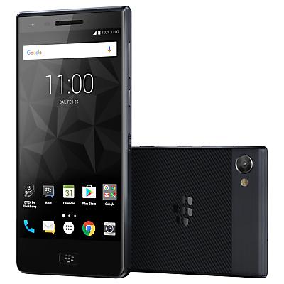Image of BlackBerry Motion Smartphone, Android, SIM Free, 32GB, Dark Grey