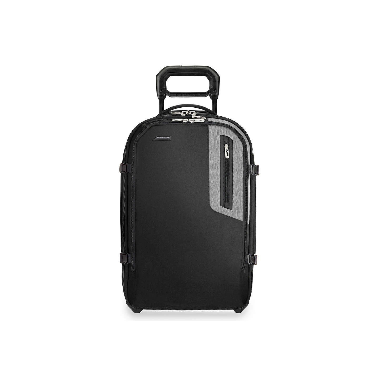 BuyBriggs & Riley BRX Explore Domestic 56cm Cabin Case, Black Online at johnlewis.com