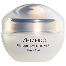 Buy Shiseido Future Solution LX Total Protective Day Cream, 50ml Online at johnlewis.com