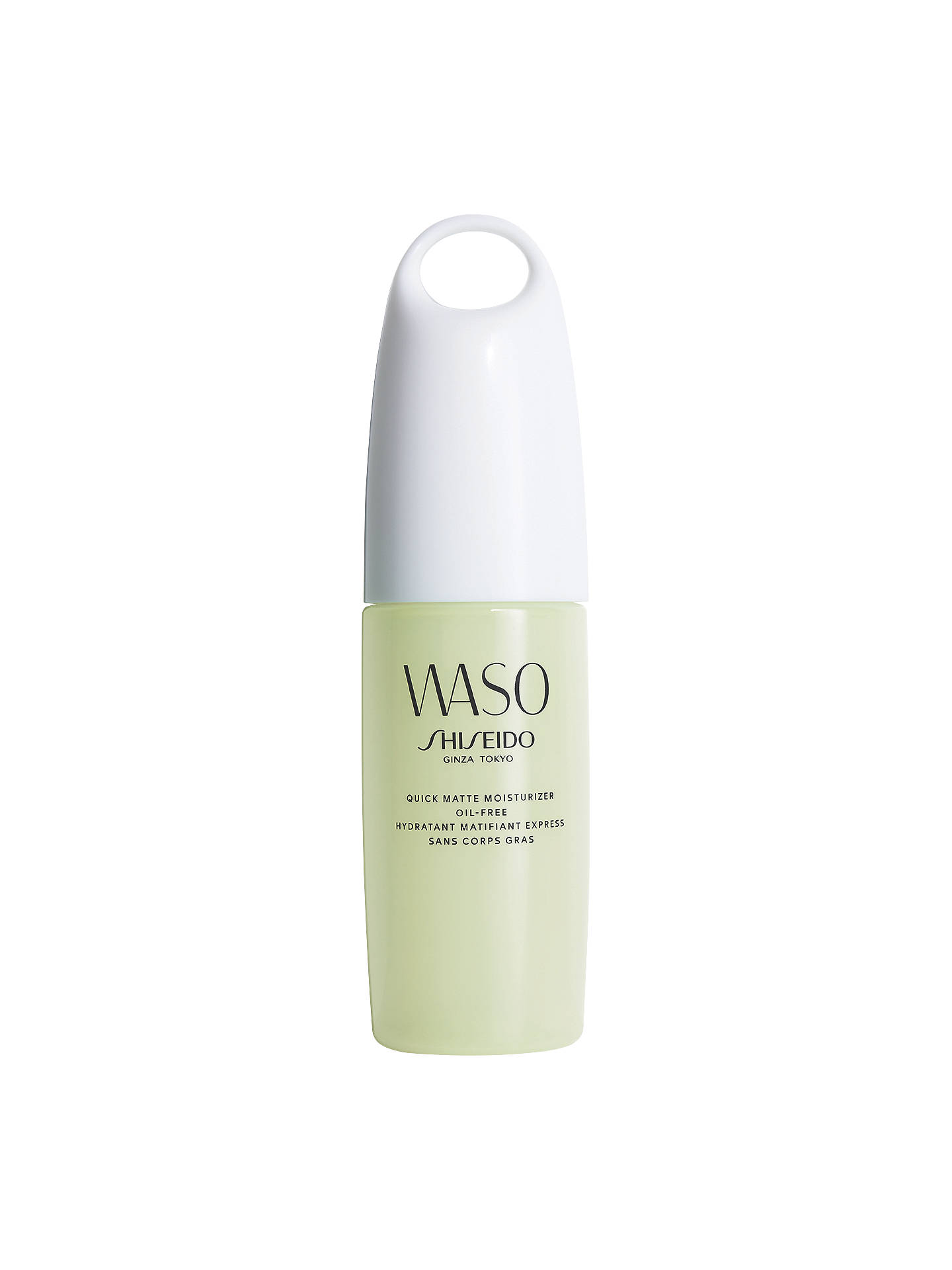 BuyShiseido WASO Quick Matte Moisturiser Oil Free, 75ml Online at johnlewis.com