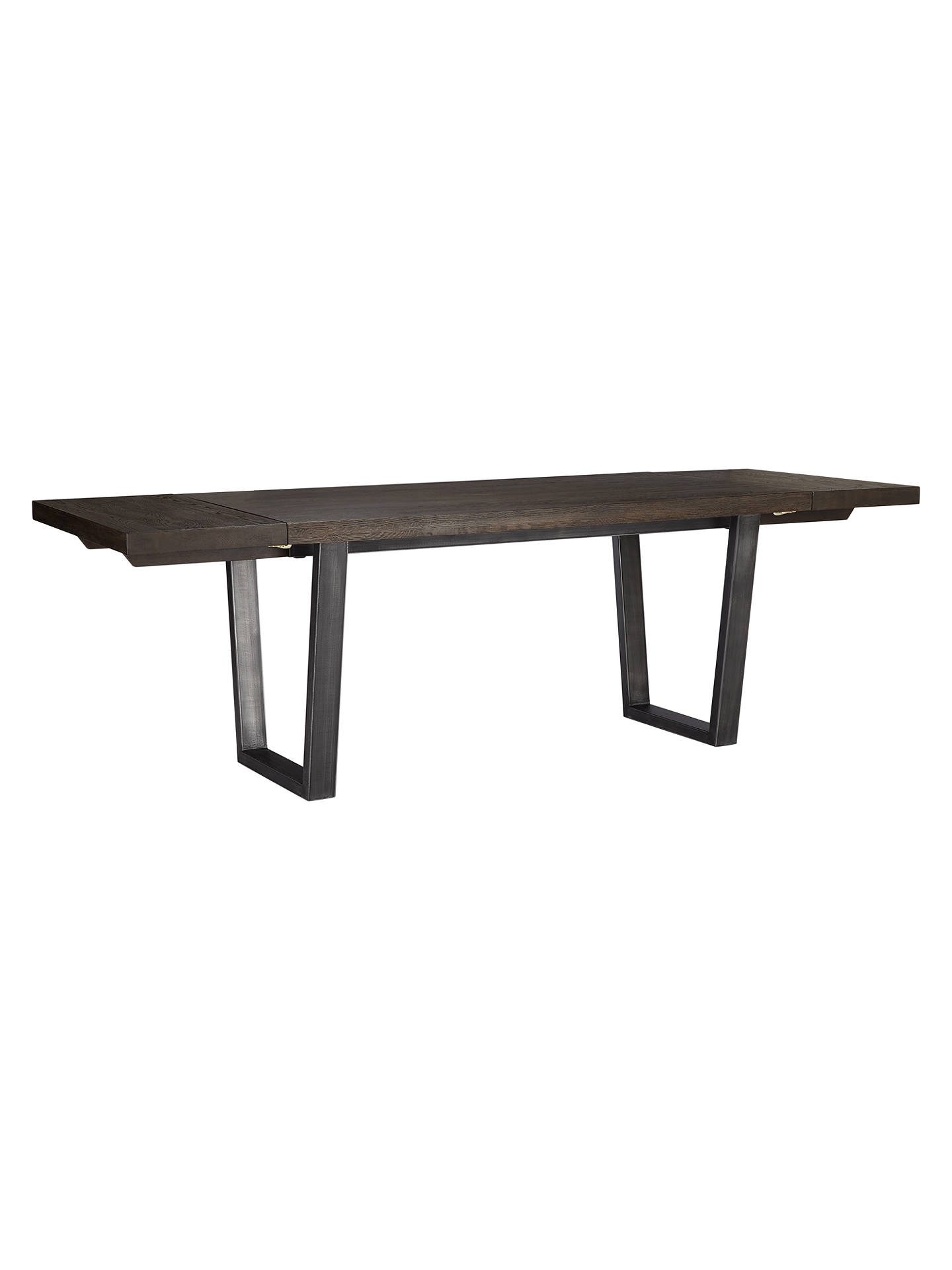 BuyJohn Lewis & Partners Calia 6-10 Seater Extending Dining Table, Dark Online at johnlewis.com