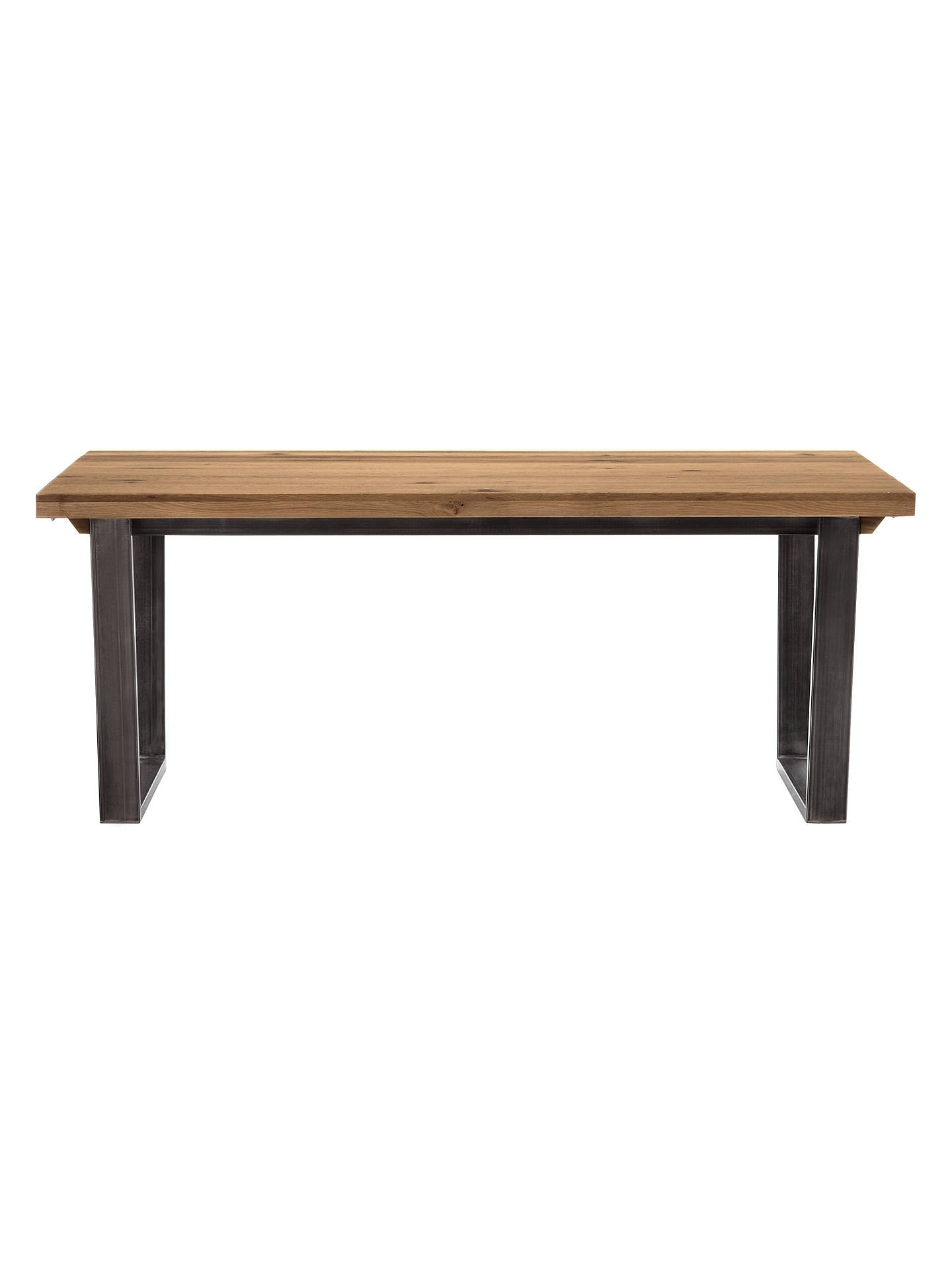 Buy John Lewis & Partners Calia 8-12 Seater Extending Dining Table, Oak Online at johnlewis.com