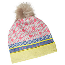 Buy White Stuff Lunar Star And Heart Hat, Multi Online at johnlewis.com