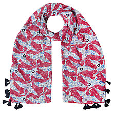 Buy White Stuff Flying Crane Ditsy Scarf, Multi Online at johnlewis.com