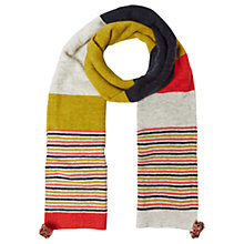 Buy White Stuff Riley Colour Block Scarf, Multi Online at johnlewis.com