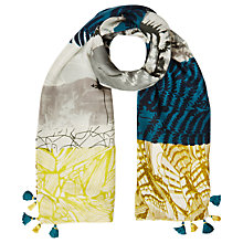 Buy White Stuff Back to Nature Patchwork Scarf, Multi Online at johnlewis.com