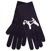 Buy Hobbs Bailey Dog Gloves, Navy Online at johnlewis.com