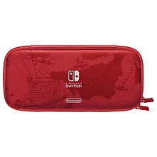 Buy Nintendo Switch Accessory Set, Super Mario Odyssey Edition Carrying Case, Mario Red Online at johnlewis.com
