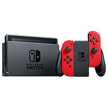 Buy Nintendo Switch Console with Joy-Con and Super Mario Odyssey bundle Online at johnlewis.com