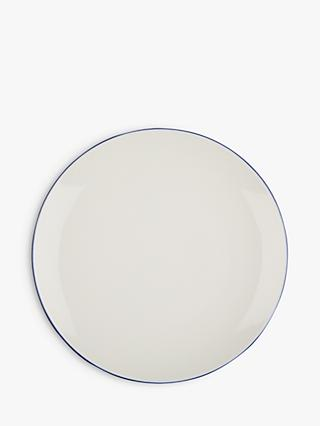 John Lewis & Partners Puritan 21cm Side Plate, Midnight Blue