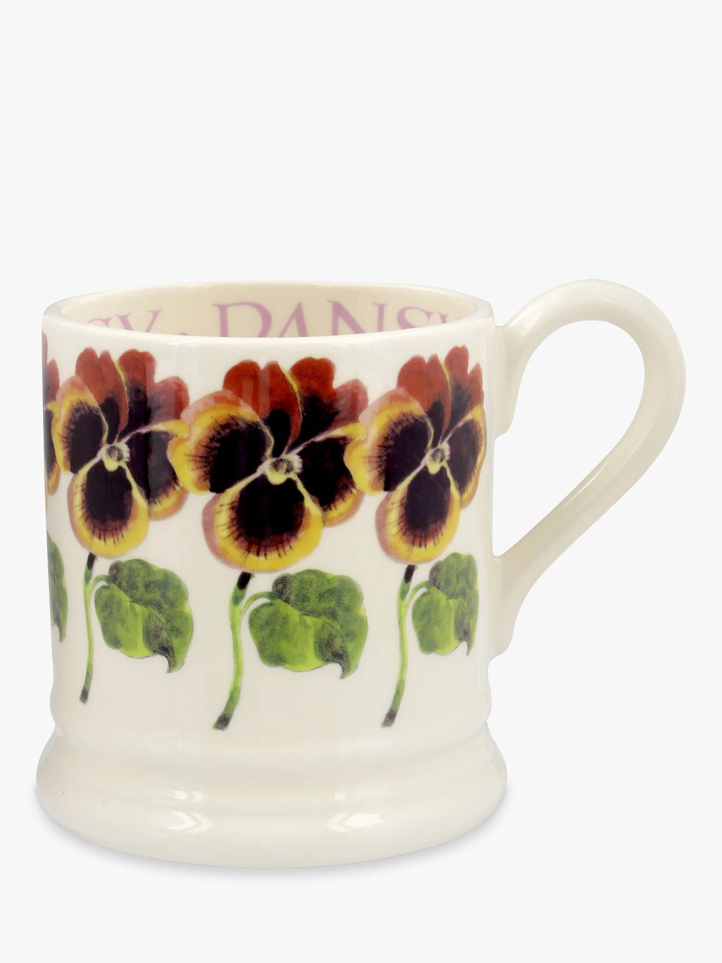 a66cb557e Buy Emma Bridgewater Pansy Half Pint Mug