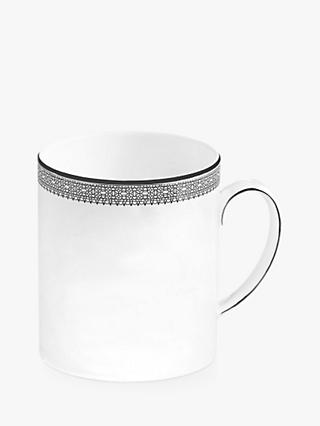 Vera Wang for Wedgwood Lace Platinum Mug