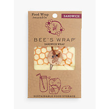 Buy Eddington Bee's Wrap Honeycomb Reusable Sandwich Wrap Online at johnlewis.com