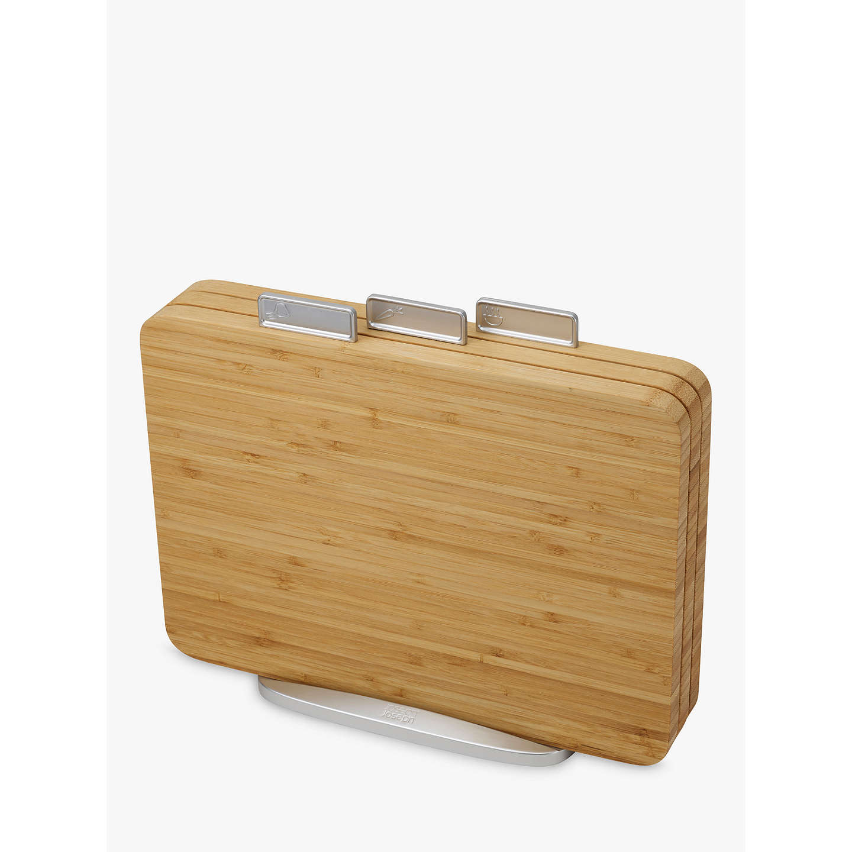 joseph joseph bamboo wood index chopping board set. Black Bedroom Furniture Sets. Home Design Ideas
