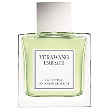 Buy Vera Wang Embrace Green Tea & Pear Blossom Eau de Toilette, 30ml Online at johnlewis.com