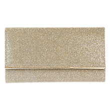 Buy Coast Aria Clutch Bag, Gold Online at johnlewis.com