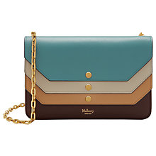 Buy Mulberry Multi-Flap Smooth Calf Leather Clutch Bag, Multi Online at johnlewis.com