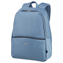 "Buy Samsonite W Nefti 14.1"" Laptop Backpack, Blue Online at johnlewis.com"