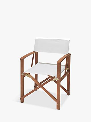 House by John Lewis Garden Directors Chair, FSC-Certified (Eucalyptus)