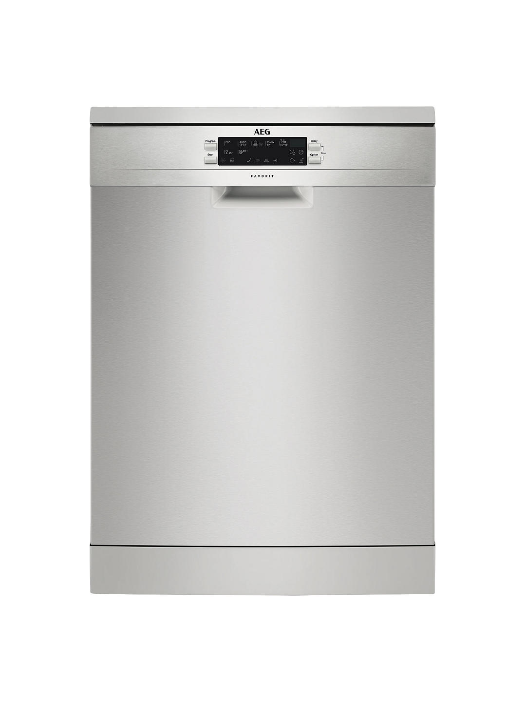 Buy AEG FFE63700PM Freestanding Dishwasher, Stainless Steel Online at johnlewis.com