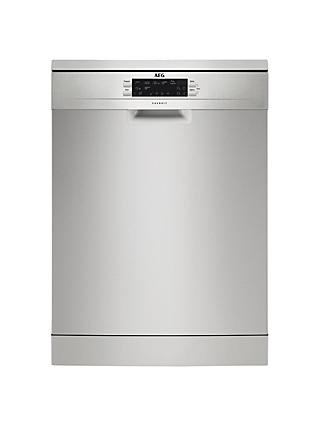 AEG FFE63700PM Freestanding Dishwasher, Stainless Steel