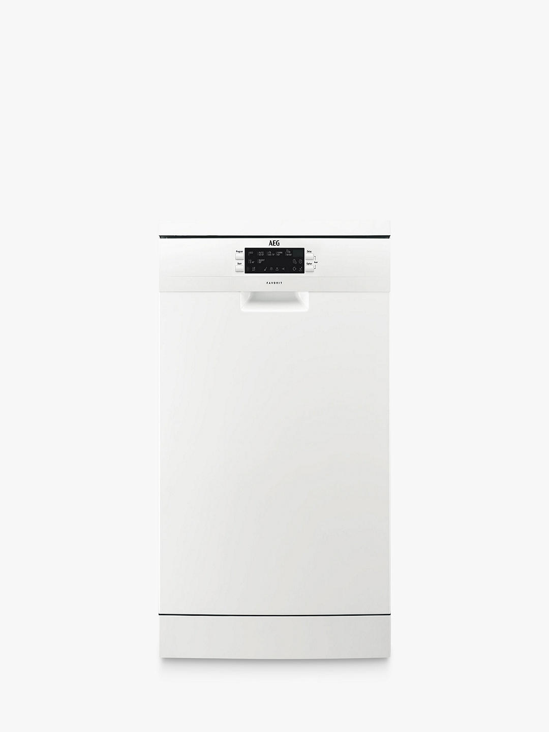Buy AEG FFE63700PW Freestanding Dishwasher, White Online at johnlewis.com
