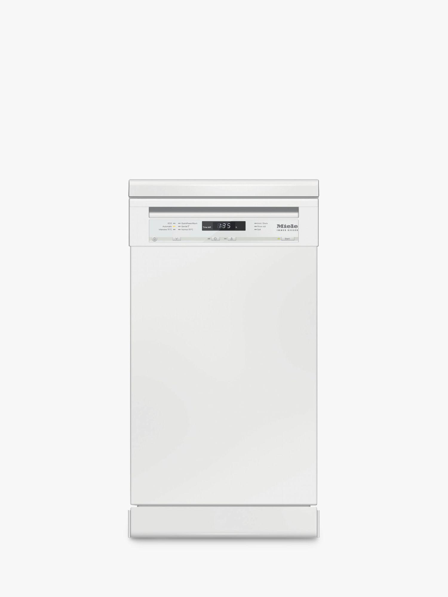 Miele Miele G4722SC Freestanding Slimline Dishwasher, A++ Energy Rating, White