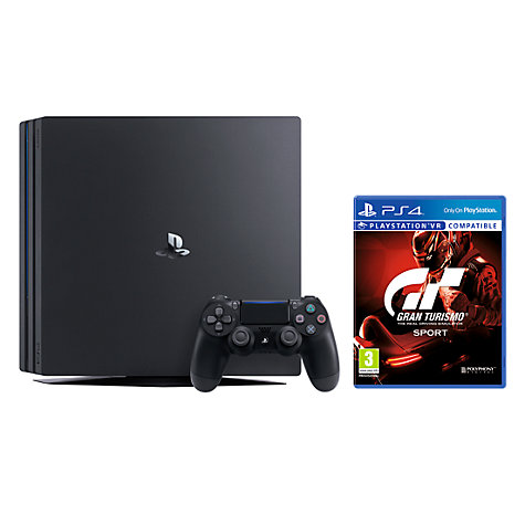 sony playstation 4 pro. buy sony playstation 4 pro console, 1tb, with dualshock controller, jet black playstation