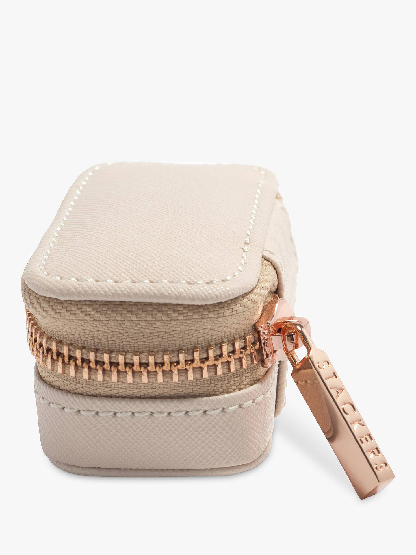 BuyStackers Petite Travel Jewellery Box, Blush Pink Online at johnlewis.com